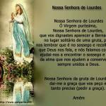 Nossa Senhora de Lourdes (Foto: divulgação)