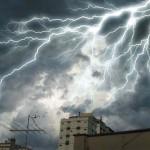 Tempestade de raios assustadora (Foto: divulgação)