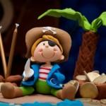 Piratinha do bolo confeitado. (Foto:Divulgação)