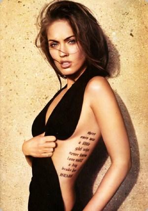 Mesmo em locais em que a tatuagem não aparece, deve-se ter cuidados (Foto: Divulgação)