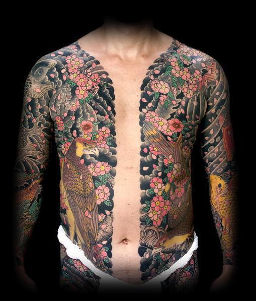 Tatuagem Irezumi no corpo (Foto: divulgação)