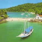 Ilha da Gipóia  a segunda maior ilha de Angra dos Reis (Foto: divulgação)