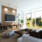 Sala decorada com simplicidade e elegância (Foto:Divulgação)
