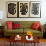 Não é preciso trocar de sofá, basta acrescentar novas almofadas. (Foto:Divulgação)