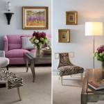 Um arranjo de flores é uma sugestão simples, mas que transforma a sala. (Foto:Divulgação)