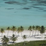 A Praia de Juanillo, ao sul de Punta Cana, tem acesso somente pelo complexo hoteleiro Cap Cana (Foto: divulgação)