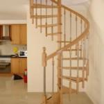 Existem modelos de escada caracol para todos os estilos de decoração. (Foto:Divulgação)