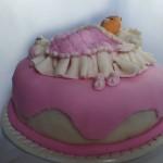 Mini bolo para chá de bebê (Foto: divulgação)