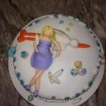 Bolo para chá de bebê divertido e engraçado (Foto: divulgação)