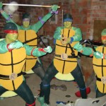 Tartarugas desajeitadas (Foto: divulgação)