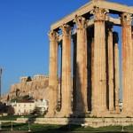 O templo de Zeus Olímpico (Foto: divulgação)
