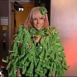 Lady Gaga vetida com sapos (Foto: diulgação)
