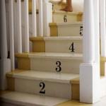 Escadas numeradas. (foto:Divulgação)