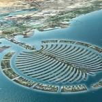 Palm Jumeirah em Dubai - Emirados Árabes Unidos (Foto: divulgação)