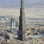 Prédio de Dubai já é o maior do mundo, com 555 metros de altura (Foto: divulgação)