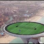 Show de tênis em Dubai (Foto: divulgação)