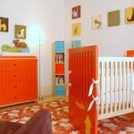 Efeito colorido no quarto do bebê. (Foto:Divulgação)
