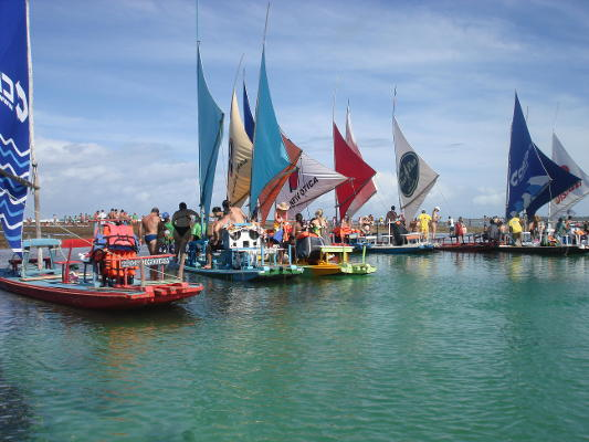 Porto de Galinhas - Jangadas (Foto: divulgação)