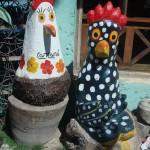 As galinhas representam apenas o símbolo de Porto de Galinhas (Foto: divulgação)