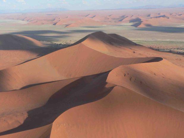 Deserto da Namíbia (Foto: divulgação)