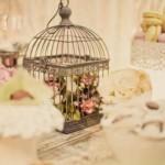 Gaiolas vintage na decoração. (Foto:Divulgação)