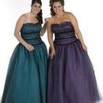 Os vestidos de debuntante devem ser lisos e de preferência de uma única cor