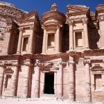 Fachada do Monastério em Petra (Foto: divulgação)