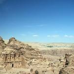Vista panorâmica do Monastério em Petra (Foto: divulgação)