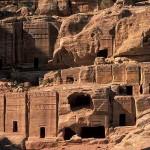 Necropolis - Petra, Jordânia (Foto: divulgação)