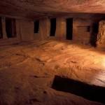 Imagem interna da Câmara do Tesouro em Petra (Foto: divulgação)