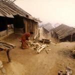 Casa nas encostas do Himalaia  (Foto: divulgação)