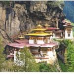 O Butão é um pequeno e fechado reino nos Himalaias (Foto: divulgação)
