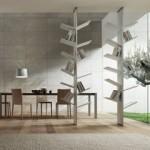Estas estantes criativas lembram árvores e podem facilmente acrescentar a originalidade ao seu design de interiores (Foto: divulgação)