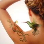 A tatuagem 3D engana os olhos. (Foto:Divulgação)