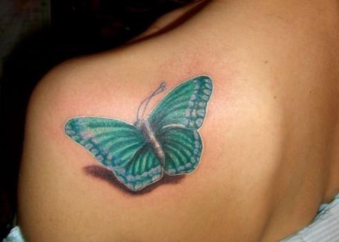 Tatuagens Femininas 3D