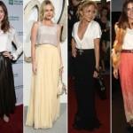 A saia longa já se tornou um hit entre as famosas. (Foto:Divulgação)