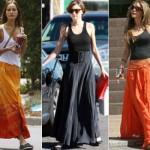 Ao escolher a saia, a mulher precisa levar em conta as necessidades do seu corpo.  (Foto:Divulgação)