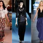 Sempre retomadas nas passarelas, as saias longas fazem sucesso entre os fashionistas.  (Foto:Divulgação)