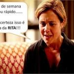 A Rita é culpada por tudo. (Foto:Divulgação)