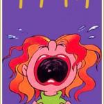 Mulher chorona na TPM (Foto: divulgação)
