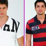 As camisas polo combinam com vários estilos e visuais.