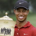 O golfista Tiger Woods cometeu traição e sua ex-mulher, Elin Nordegren, saiu de casa levando os filhos. (Foto:Divulgação)