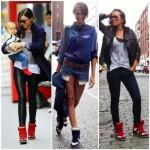 Coloridos ou neutros, os sneakers deixam o look com mais personalidade. (Foto:Divulgação)