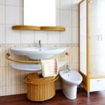A pia escolhida para o banheiro deve valorizar o tipo de uso. (Foto:Divulgação)