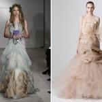 Modelos e cores ousadas para noivas modernas e chiques (Foto: divulgação)