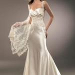 Rendas – É sinal de riqueza e está super valorizado nos vestidos de casamento moderno (Foto: divulgação)