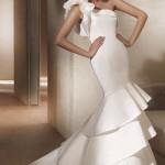 Vestido cereia perfeito para uma noiva moderna (Foto: divulgação)