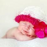 Bebê sorrindo dormindo (Foto: divulgação)