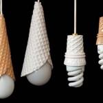 Luminária sorvete (Foto: divulgação)