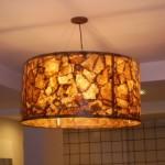 Luminária de filtros de café usados (Foto: divulgação)